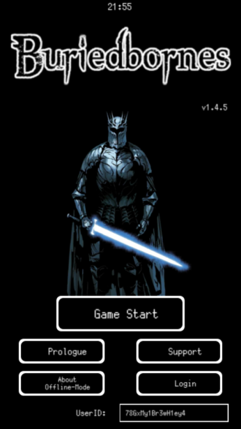 Title screen with a scary-looking jedi and his light saber